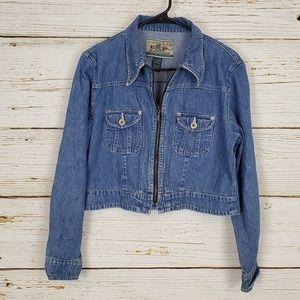 Express Zip Front Jean Jacket